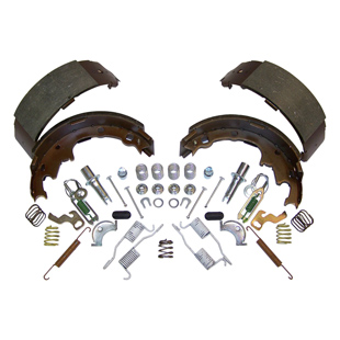Brake Shoe Service Kit, Rear