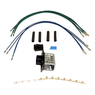 Blower Motor Resistor & Wiring Kit