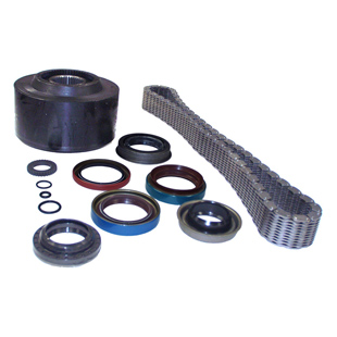 Viscous Coupling, Seal and Chain Kit