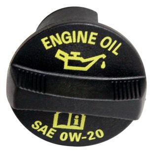 Víčko oleje