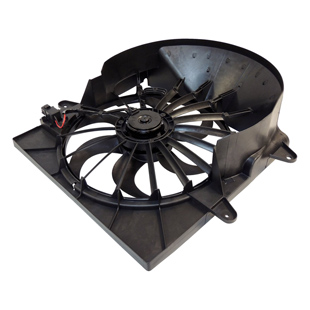 Sada ventilátoru s motorem