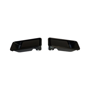 Door Handle Kit, Black, Half Doors