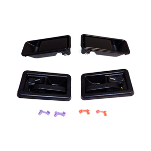 Door Handle Kit, Half Doors, Exterior, Interior
