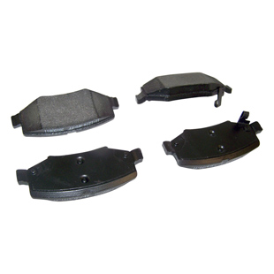 Kit de plaquettes de frein, frein à disque, arrière