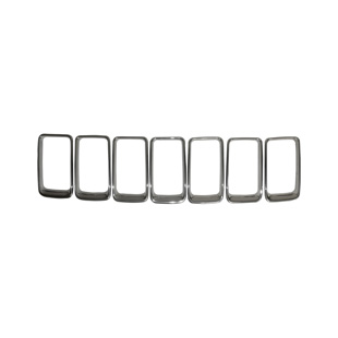 Grille Trim Ring Kit, Platinum