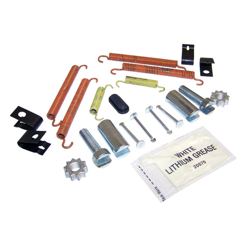 Complete Drilled & Slotted Brake Kit, Rear