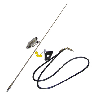 Chrome Antenna Kit