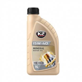 TEXAR 15W40 Mineral Oil Petrol / Diesel / LPG 1L