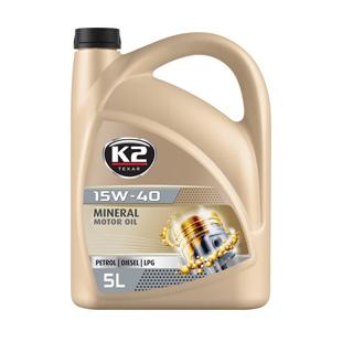 TEXAR 15W40 huile minérale essence/diesel/ LPG 5L