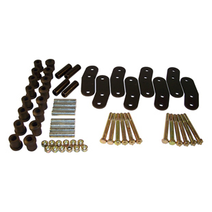 Heavy Duty Greasable Shackle Kits