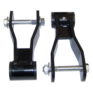 HD Greasable Shackle Kit, Rear