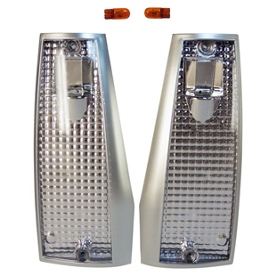 Clear Sidemarker Lamp Kit