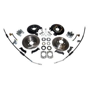 Kit de discos de freno (conversion a discos Dana 44)