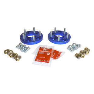 Wheel Spacer Set, Blue