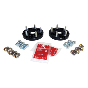 Wheel Spacer Kit, Black