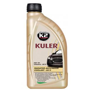 Kuler Long Life, líquido de uso general para los radiadores, -35°C, verde, 1 L