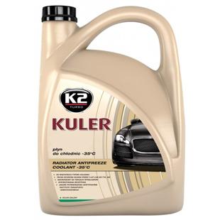Kuler Long Life, líquido de uso general para los radiadores, -35°C, verde, 5 L
