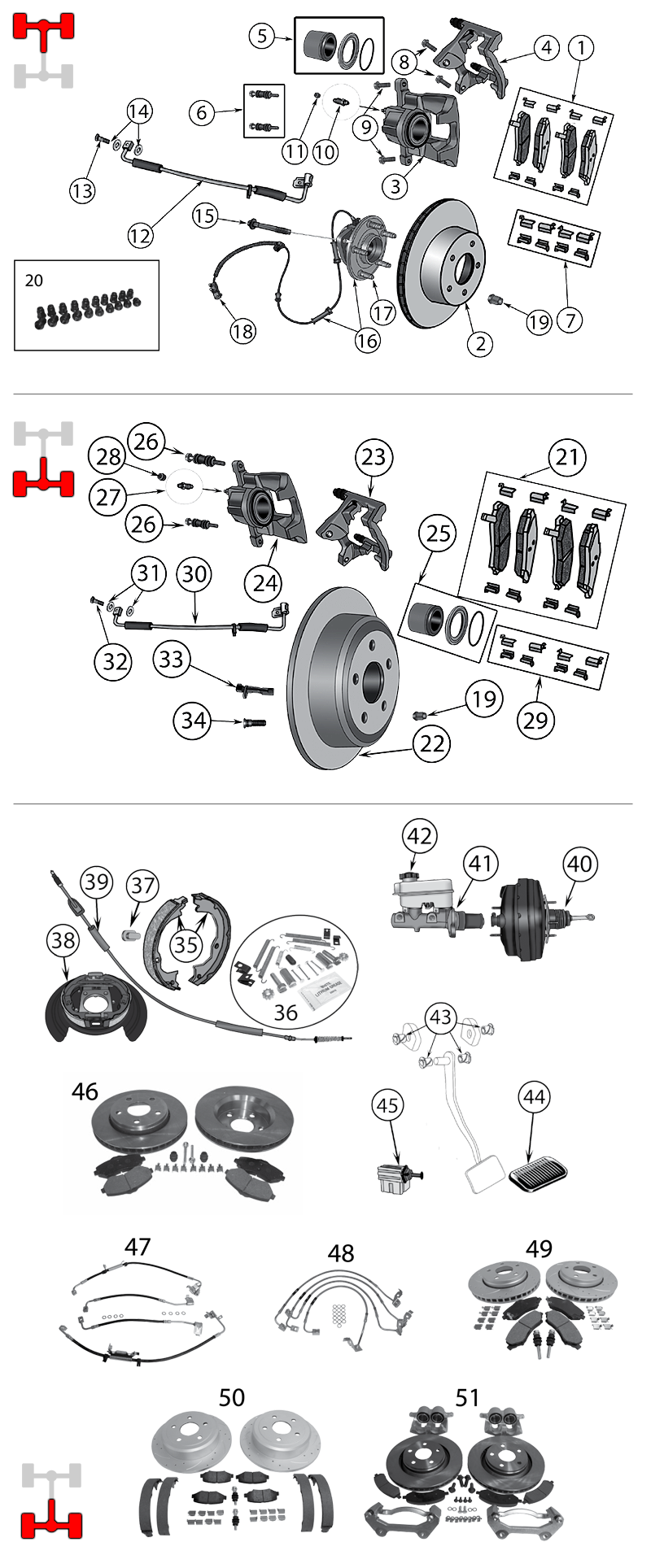 diagram brakes jeep jk wrangler 2007  2017