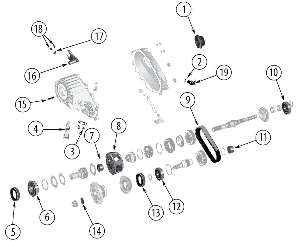 diagrama np241c jeep jk wrangler 2007  2017