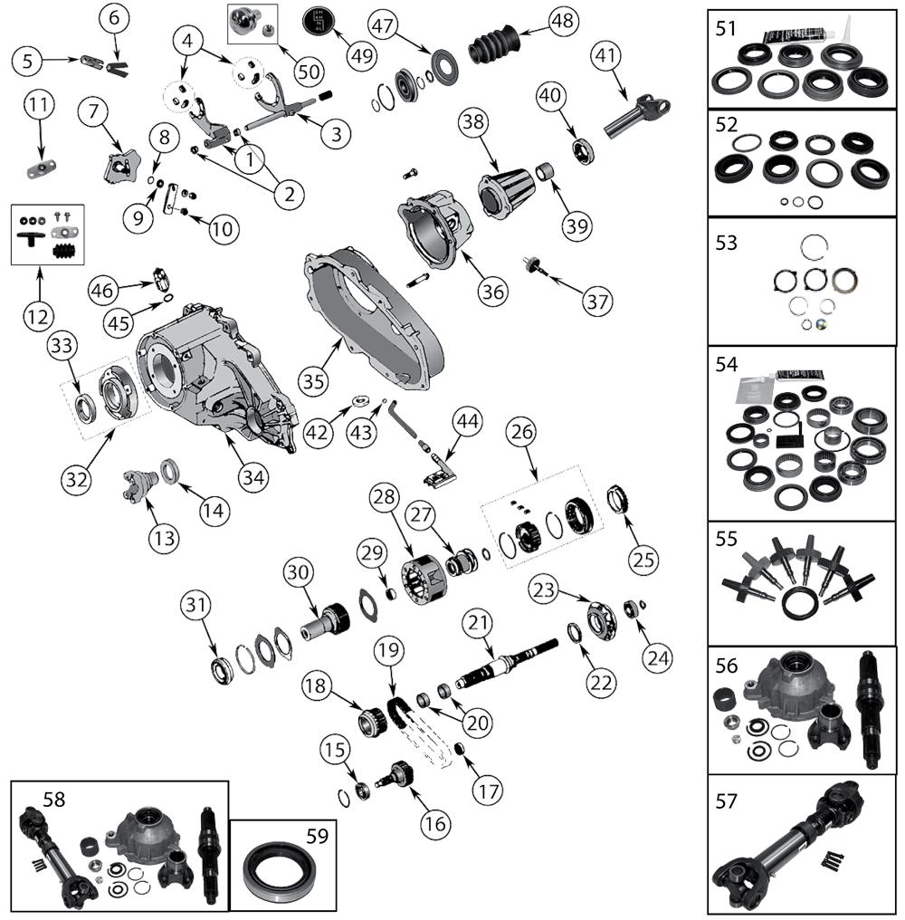 diagrama np231 jeep xj cherokee 1984  2001