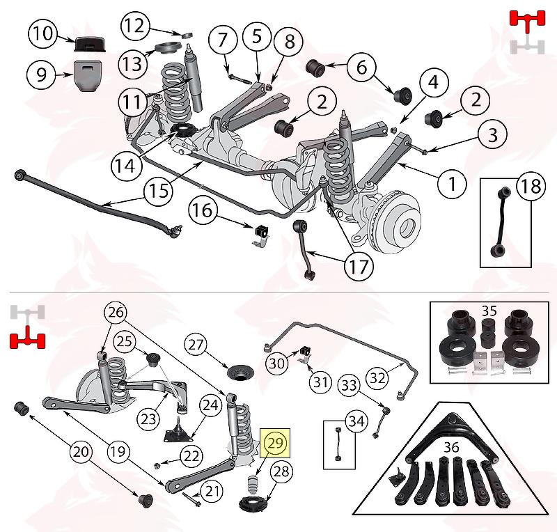 article pour model 52088352 amortisseur de d u00e9battement