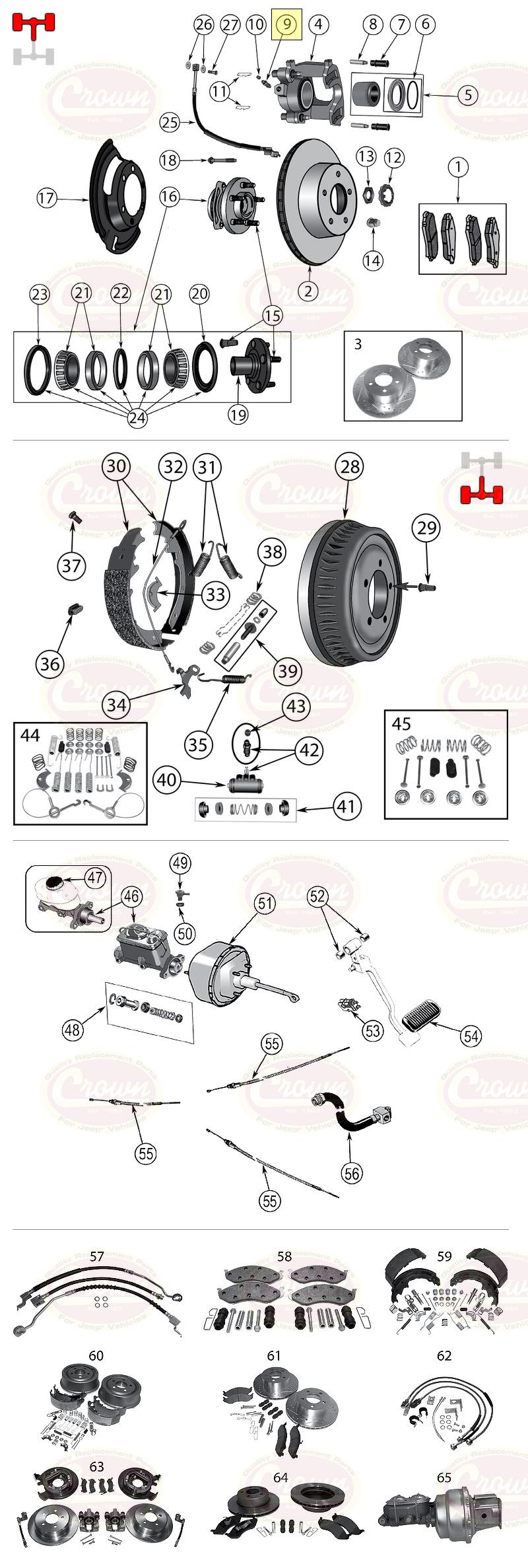 3.8 L 4.2 L 5.9 L 6.6 L Entlüfterschraube//-ventil Jeep Wagoneer SJ 1974//1991