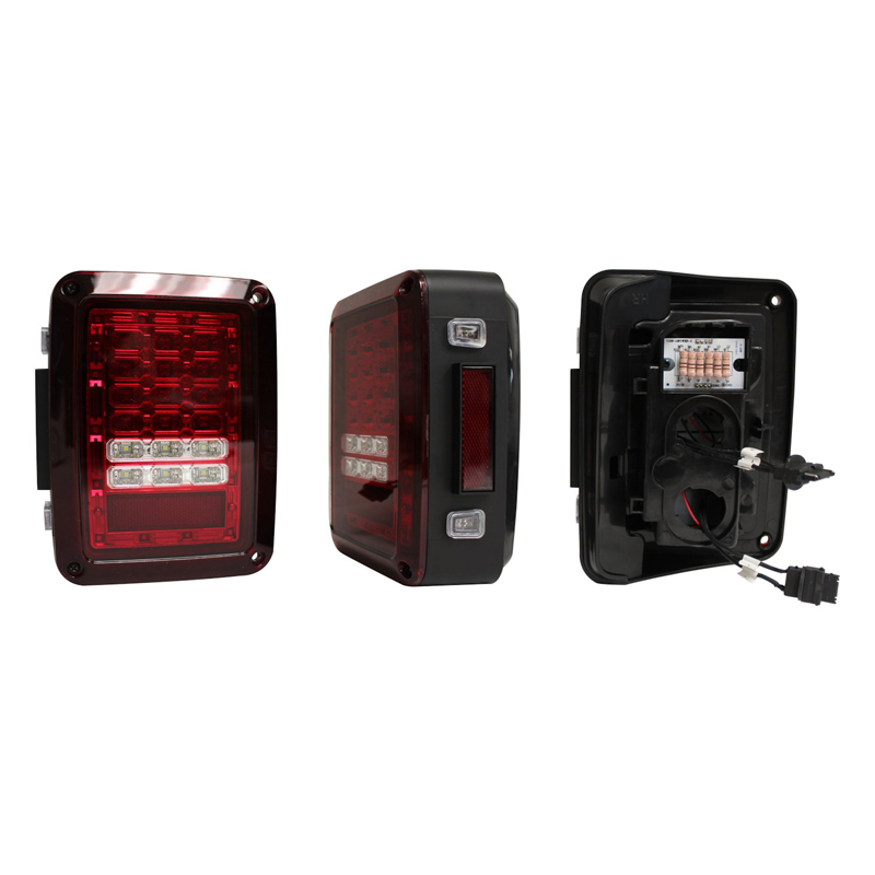 LED Tail Light Set, Red Lens