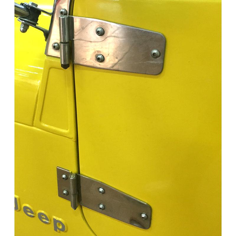 Supports de charnière de porte inférieur